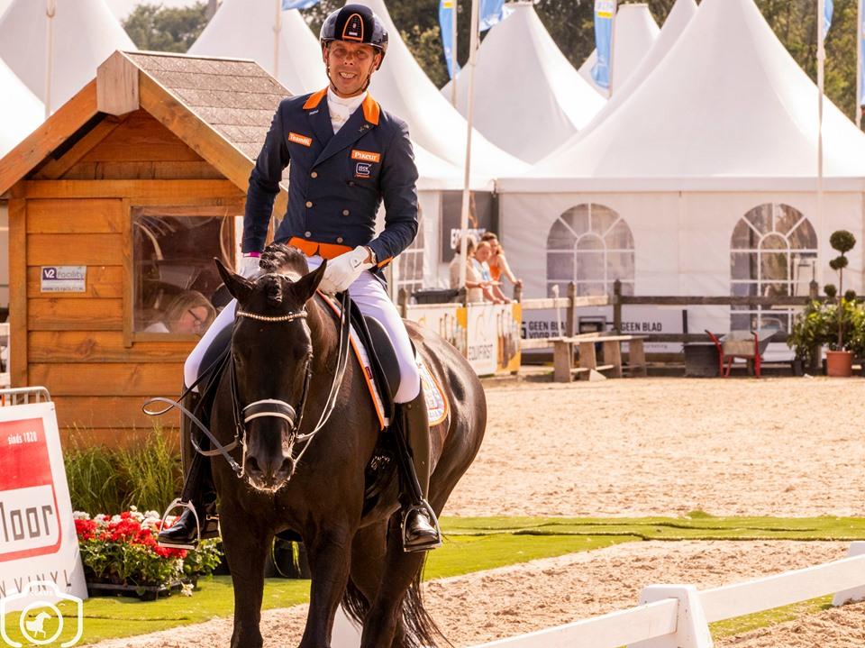 Hans Peter Minderhoud naar tweede plaats in Falsterbo