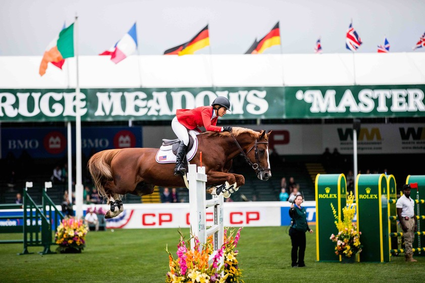 Beezie Madden and Darry Lou conquer the Rolex Grand Prix of Spruce Meadows