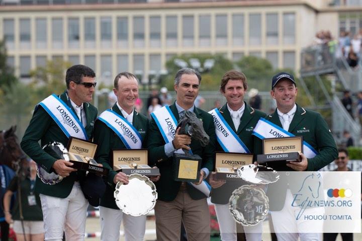 Rodrigo Pessoa en Ierse team winnen Nations Cup finale