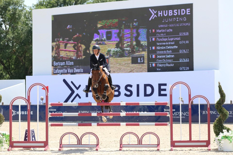 Bertram Allen victorious in Longines Rankingclass Hubside