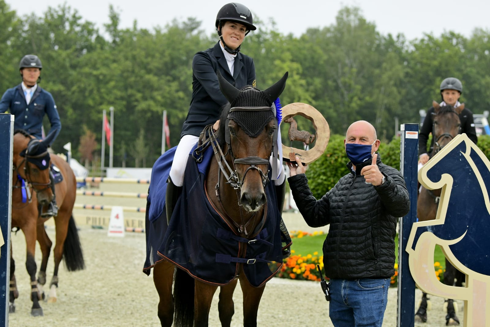 FEI gives new guidelines regarding prize giving ceremonies