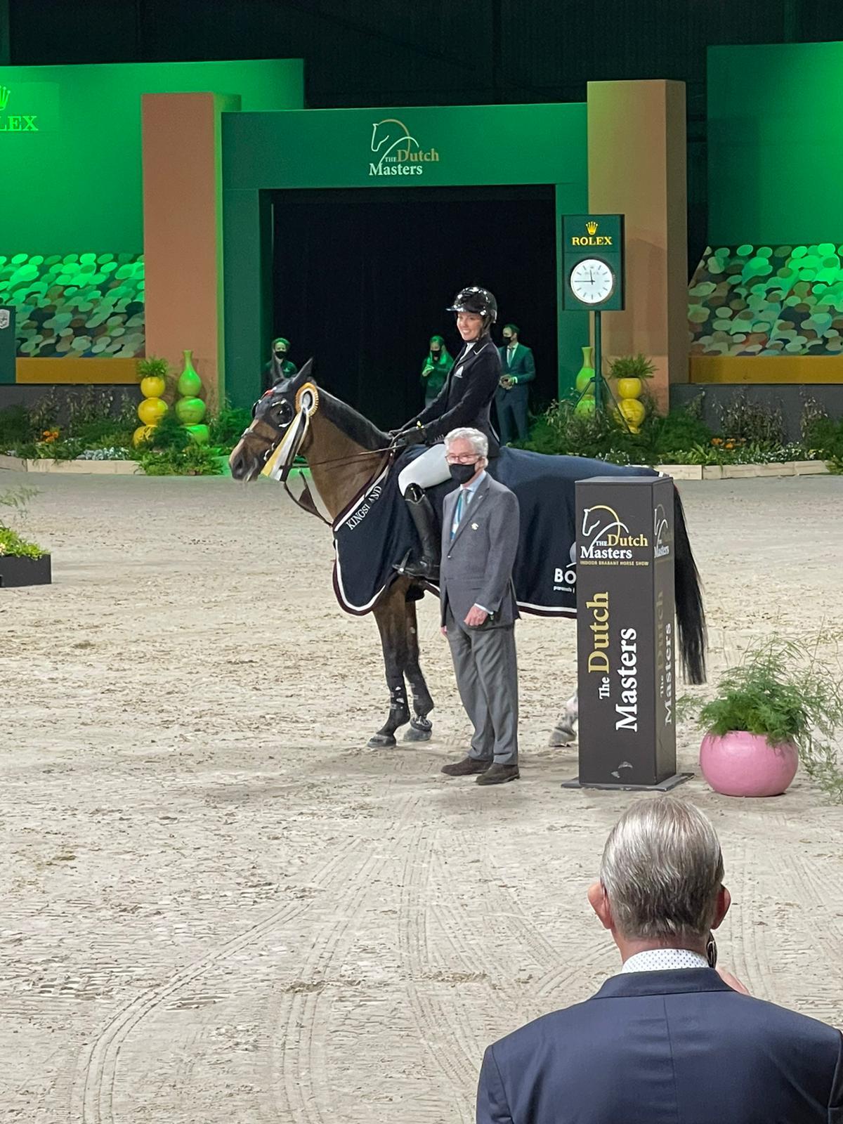 Gudrun Patteet décroche une magnifique première place à Den Bosch
